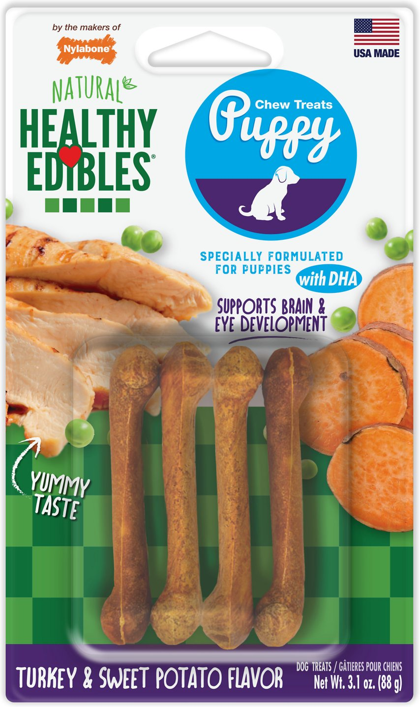 nylabone healthy edibles puppy review