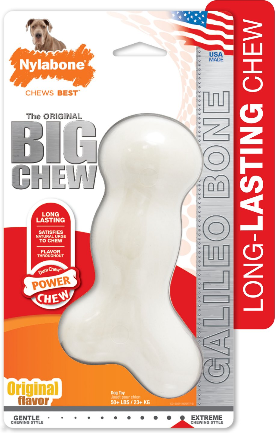 Nylabone Galileo Chew Bone Dog Toy X Chewy