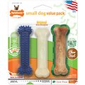 Nylabone Small Dog Value Triple Pack Dog Chew Toy
