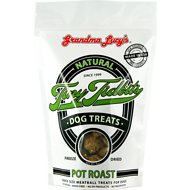 Grandma Lucy's Freeze-Dried Tiny Tidbits Meatballs Pot Roast Dog Treats, 6-oz bag
