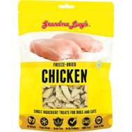 Grandma Lucy's Freeze-Dried Singles Chicken Dog & Cat Treats, 4-oz bag