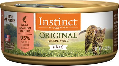 5. Nature's Variety Instinct Grain-Free Salmon Wet Food