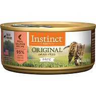 Instinct by Nature's Variety Original Grain-Free Real Salmon Recipe Natural Wet Canned Cat Food, 5.5-oz, case of 12