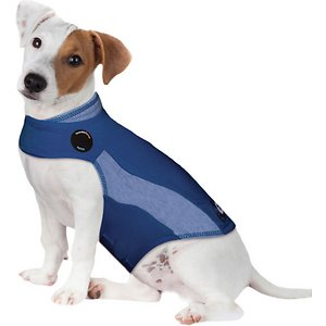 ThunderShirt Sport Anxiety & Calming Aid for Dogs Blue Polo