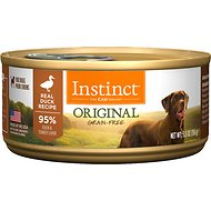 Instinct by Nature's Variety Original Grain-Free Real Duck Recipe Natural Wet Canned Dog Food, 5.5-oz, case of 12
