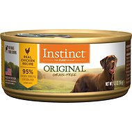 Instinct by Nature's Variety Original Grain-Free Real Chicken Recipe Natural Wet Canned Dog Food, 5.5-oz, case of 12