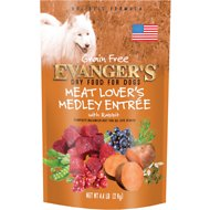 Evanger's Meat Lover's Medley with Rabbit Grain-Free Dry Dog Food, 4.4-lb bag