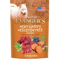 Evanger's Meat Lover's Medley with Rabbit Grain-Free Dry Dog Food, 33-lb bag