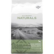 Diamond Naturals Large Breed Adult Lamb Meal & Rice Formula Dry Dog Food, 40-lb bag