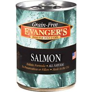 Evanger's Grain-Free Wild Salmon Canned Dog & Cat Food Supplement, 12.8-oz, case of 12