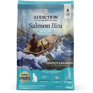 Addiction Grain-Free Salmon Bleu Dry Cat Food, 4-lb bag