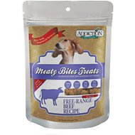 Addiction Meaty Bites Beef Dog Treats, 12-oz bag