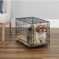 MidWest iCrate Single Door Fold & Carry Dog Crate, 22-in