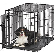 MidWest LifeStages Single Door Dog Crate, 30-in