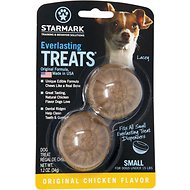 Starmark Everlasting Treats Chicken Flavor Dog Dental Chews, Small