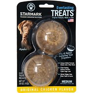 Starmark Everlasting Treats Chicken Flavor Dog Dental Chews, Medium