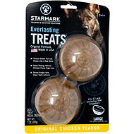 Starmark Everlasting Treats Chicken Flavor Dog Dental Chews, Large