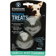Starmark Everlasting Treats Vanilla Mint Flavor Dog Dental Chews, Small