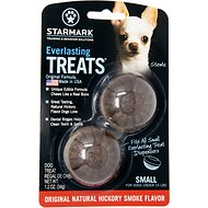 Starmark Everlasting Treats Natural Hickory Smoke Flavor Dog Dental Chews, Small