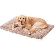 MidWest Quiet Time Ombre Swirl Dog & Cat Bed, Taupe, 42-in