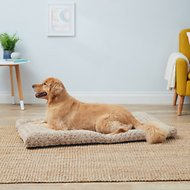 MidWest Quiet Time Ombre Swirl Dog & Cat Bed, Taupe, 48-in
