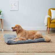MidWest Quiet Time Ombre Swirl Dog & Cat Bed, Grey, 48-inch