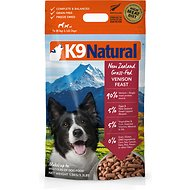 K9 Natural Venison Feast Raw Grain-Free Freeze-Dried Dog Food, 3.3-lb box