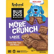 Blue Dog Bakery Original Recipe Low Fat Peanut Butter & Molasses Dog Treats, 20-oz box