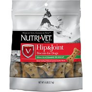 Nutri-Vet Hip & Joint Extra Strength Wafers for Large Dogs Peanut Butter Flavor Treats, 6-lb bag