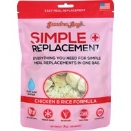 Grandma Lucy's Simple Replacement Freeze-Dried Dog & Cat Meal Replacement, 7-oz bag