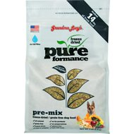 Grandma Lucy's Pureformance Grain-Free/Freeze-Dried Dog Food Pre-Mix, 3-lb bag