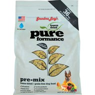 Grandma Lucy's Pureformance Grain-Free/Freeze-Dried Dog Food Pre-Mix, 8-lb bag