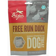 Orijen Free Run Duck Singles Freeze-Dried Dog Treats, 2-oz bag