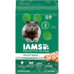 Iams ProActive Health Healthy Senior Dry Cat Food