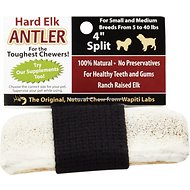 Wapiti Labs Split Elk Antlers Dog Chews, Small/Medium