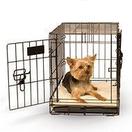 K&H Pet Products Self-Warming Pet Crate Pad, Tan, 14 x 22-inch