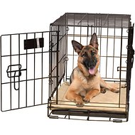 K&H Pet Products Self-Warming Pet Crate Pad, Tan, 32 x 48 in