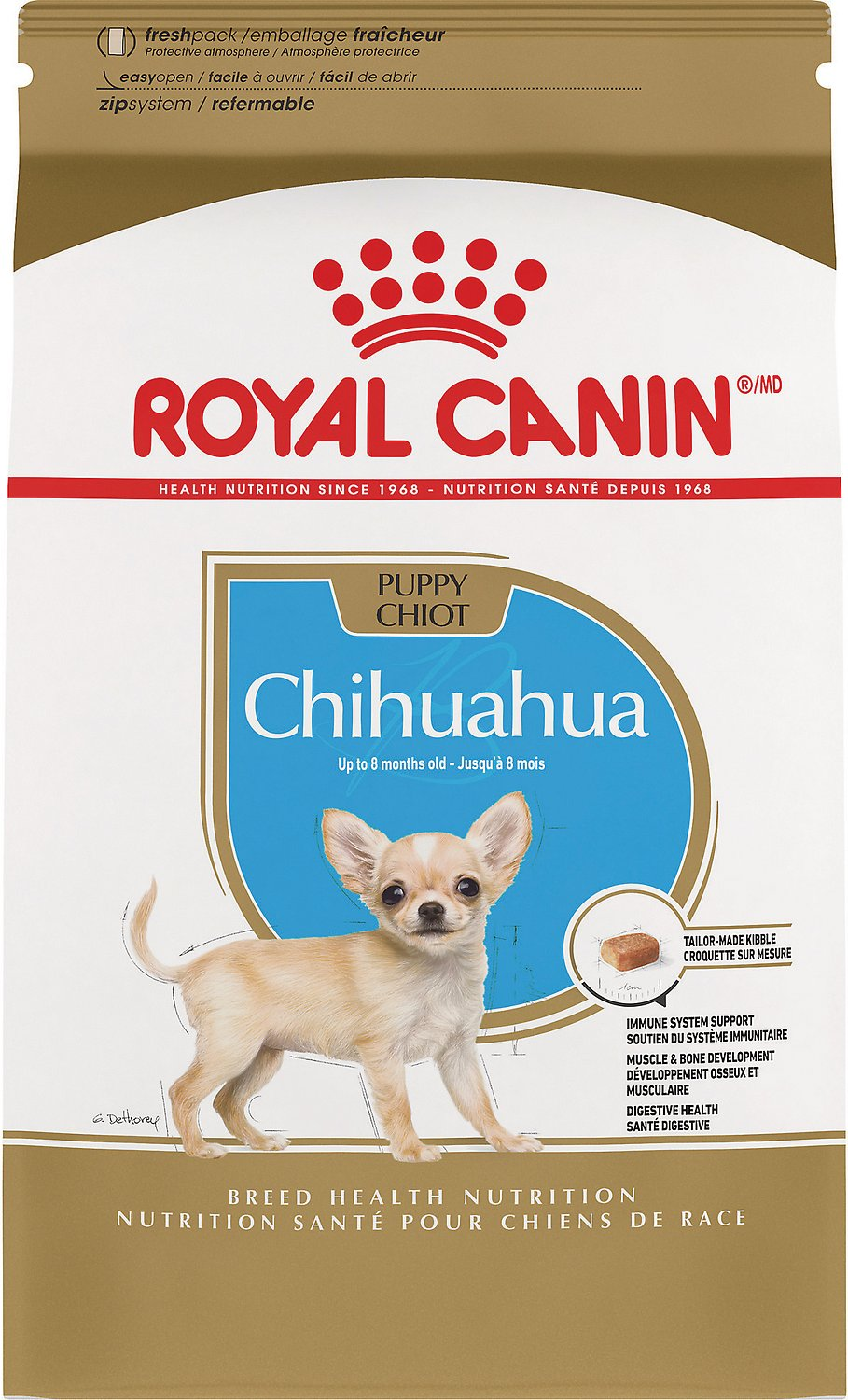 Royal Canin Chihuahua Puppy Dry Dog Food 2 5 Lb Bag Chewy Com