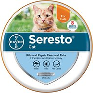 Seresto 8 Month Flea & Tick Prevention Collar for Cats & Kittens, 1 count