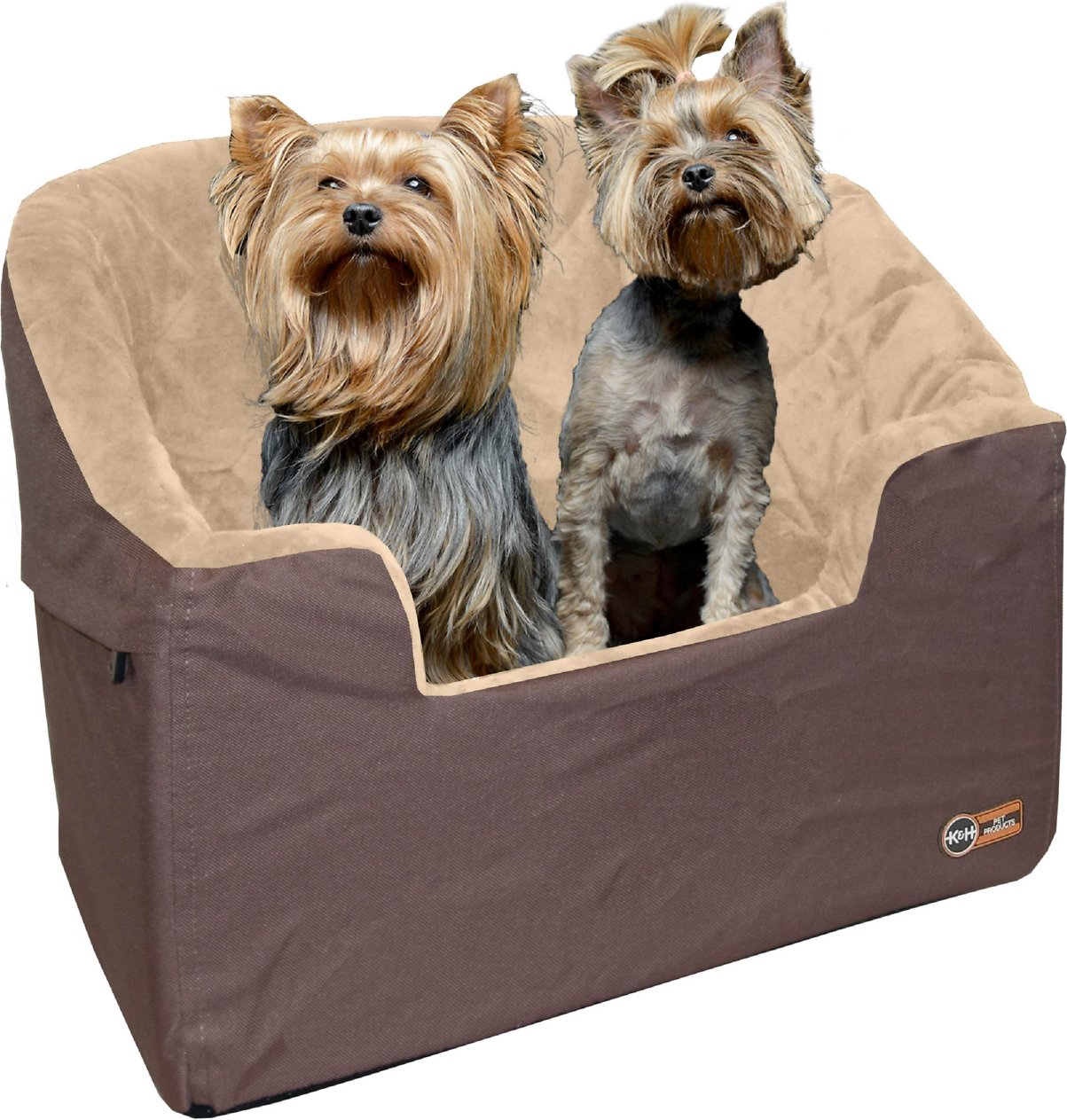 K Amp H Pet Products Bucket Booster Pet Seat Tan Large