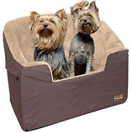 K&H Pet Products Bucket Booster Pet Seat, Tan, Large