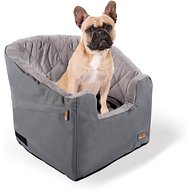 K&H Pet Products Bucket Booster Pet Seat, Grey, Small