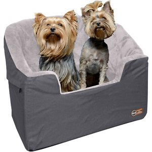 K&H Pet Products Bucket Booster Pet Seat, Grey, Large
