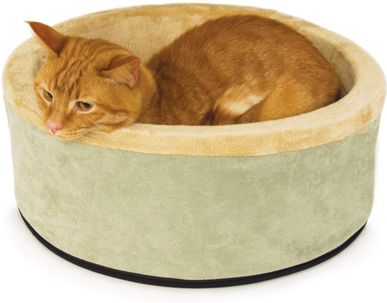 K&H Pet Products Thermo-Kitty Heated Cat Bed