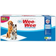 "Wee-Wee Extra Large Puppy Housebreaking Pads, 28"" x 34"", 40 count"