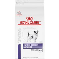 Royal Canin Veterinary Diet Mature Consult Small Breed Dry Dog Food, 7.7-lb bag