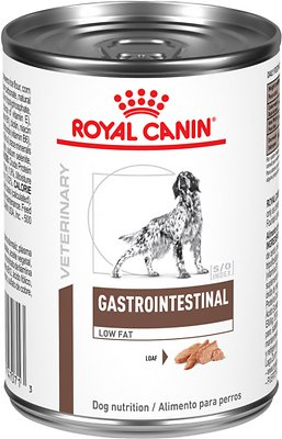 3. Royal Canin Veterinary Diet Gastrointestinal Low Fat Canned Dog Food