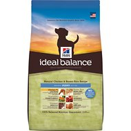 Hill's Ideal Balance Natural Chicken & Brown Rice Recipe Puppy Dry Dog Food, 12.5-lb bag