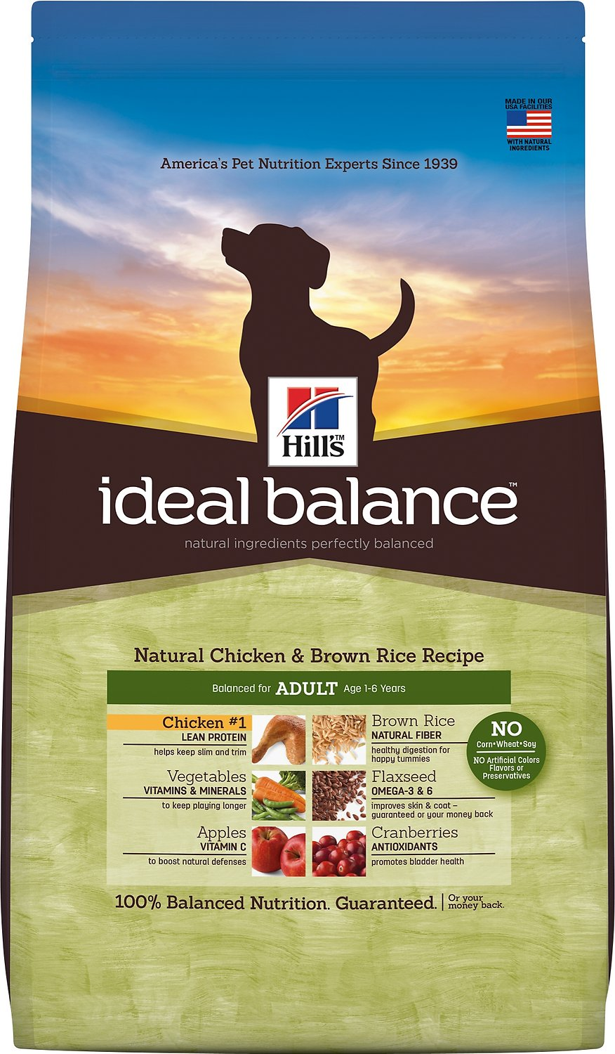 Hill S Ideal Balance Natural Chicken Brown Rice