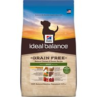 Hill's Ideal Balance Grain-Free Natural Chicken & Potato Recipe Adult Dry Dog Food, 3.5-lb bag